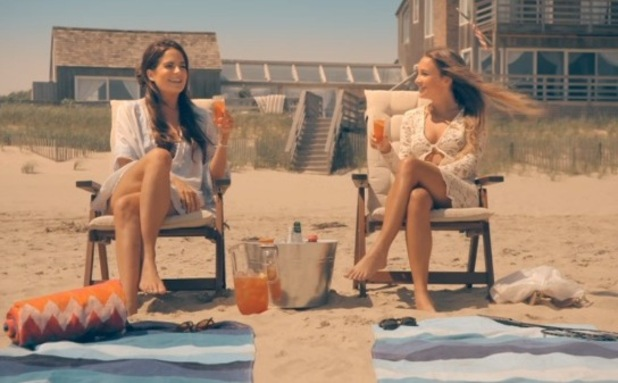 Made In Chelsea: New York, Billie Carroll and Binky Felstead in The Hamptons, New York 7 September
