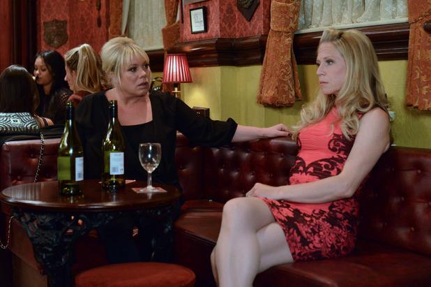 EastEnders, Sharon and Linda get drunk, Tue 9 Sep