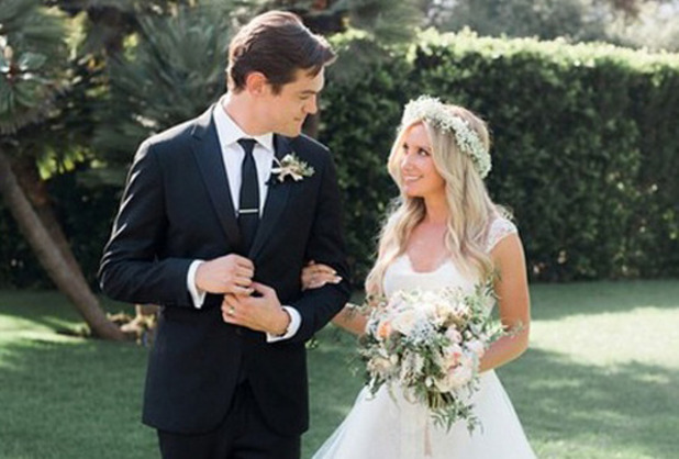 Ashley Tisdale marries Christopher French, 8 September 2014