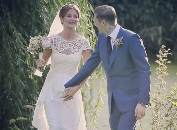 Millie Mackintosh shares photo of her and husband Professor Green on wedding day for first anniversary 10 September
