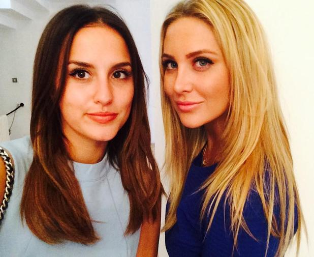 Made In Chelsea's Lucy Watson and Stephanie Pratt at Fearne Cotton's Very Fashion launch - 12 September.