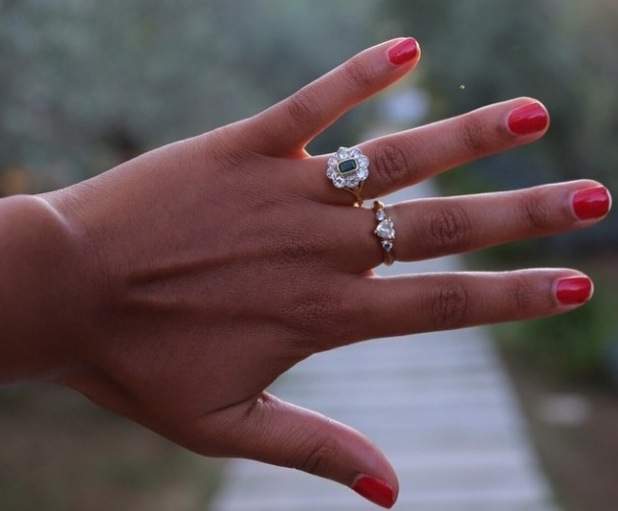 Steve Jones gets engaged to Phylicia Jackson in Italy - 12 September 2014