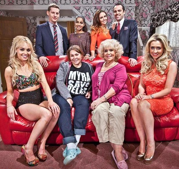 Hollyoaks family - the McQueens.