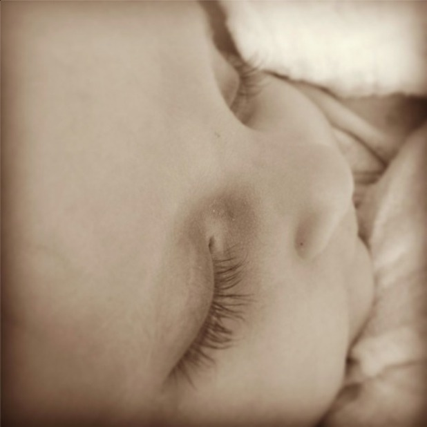 Billie Faiers shares cute picture of baby Nelly, 13 September 2014