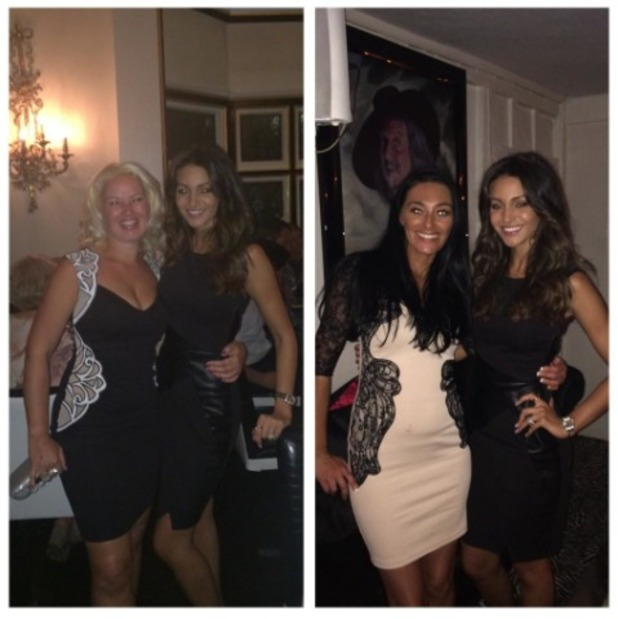 Michelle Keegan on a night out in Chigwell, Sep 14.