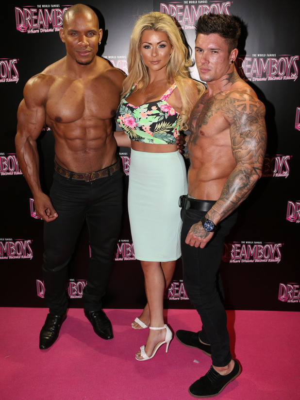 Celebrities attend Dan Osborne's debut night with The Dreamboys at The Rise in Leicester Square - 10 September 2014