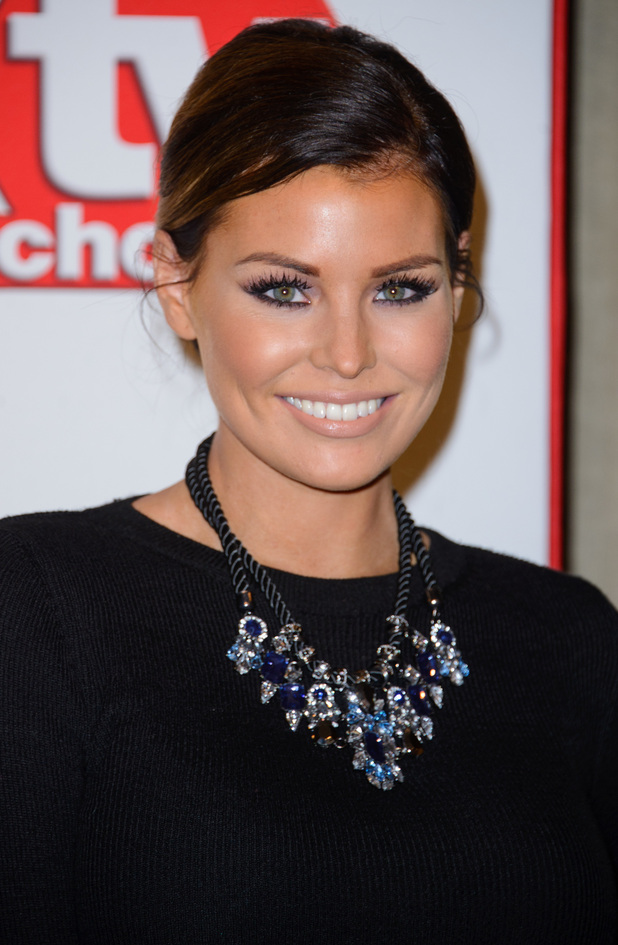 TOWIE's Jessica Wright attends the TV Choice Awards 2014 in London, England - 8 September 2014