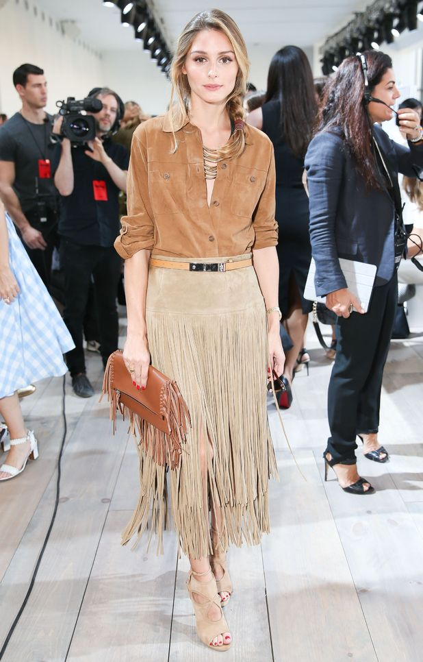 Olivia Palermo attends the Michael Kors spring/summer '15 show during New York Fashion Week - America - 10 September 2014