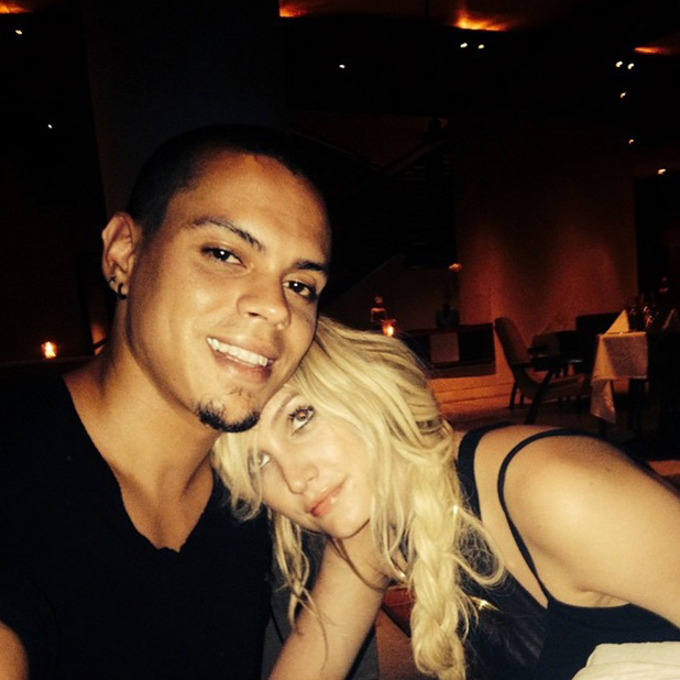 Ashlee Simpson shares picture of herself and husband Evan Ross on Bali honeymoon, 10 September 2014