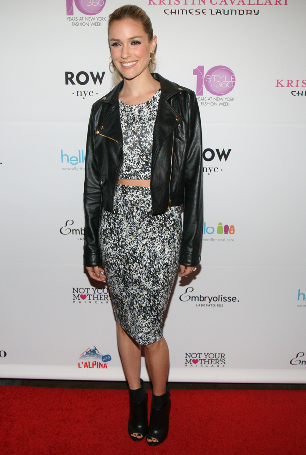 Kristin Cavallari attends STYLE360 Hosts Kristin Cavallari By Chinese Laundry Preview Party At Row NYC at Row NYC on September 11, 2014 in New York City. (Photo by Thomas Concordia/WireImage for STYLE360)