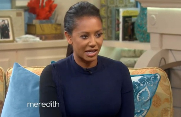 Mel B appearing on The Meredith Viera Show, 9 September 2014