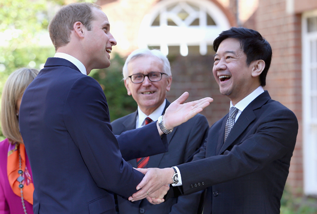 Prince William, Duke of Cambridge arrives to open The Dickson Poon University of Oxford China Centre Building on September 8, 2014 in Oxford, England