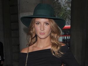 Millie Mackintosh steps out at London Fashion Week - London, England - 16 September 2014
