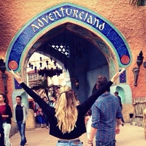 Perrie Edwards enjoys day out at Disney 15 September