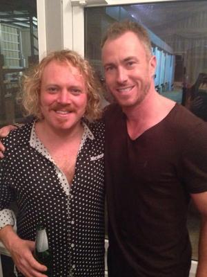James Jordan films Celebrity Juice with Keith Lemon - 16 September.