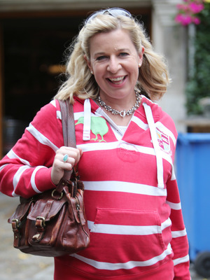 Katie Hopkins outside ITV Studios - 1 September 2014.