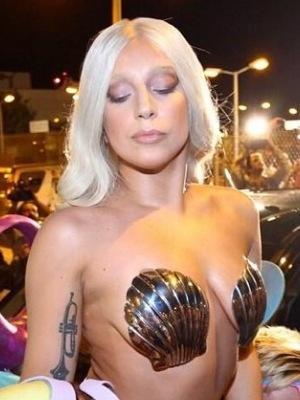Lady Gaga arrives in Athens, Greece. 18 September 2014.