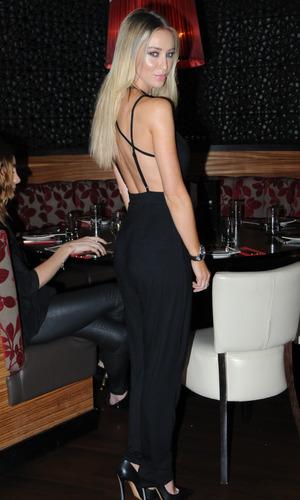 TOWIE's Lauren Pope at the Emeli Sande charity gala - 18 September 2014.