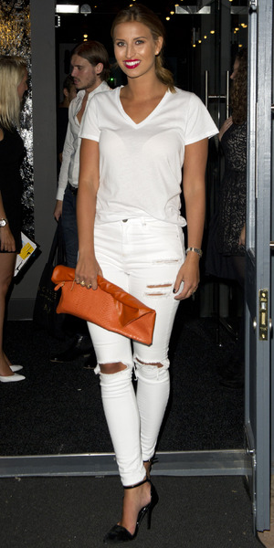 Ferne McCann attends Bourgee Restaurant launch party, Southend, Essex 12 September