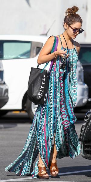 Vanessa Hudgens leaving Urban Outfitters store in Studio City, LA 17 September