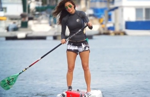 Nicole Scherzinger teams up with Vevo US for  'A Day Off with Nicole Scherzinger' - 15 September.