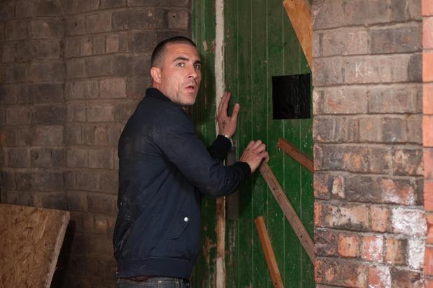 Hollyoaks, Trevor saves Esther, Tue 16 Sep
