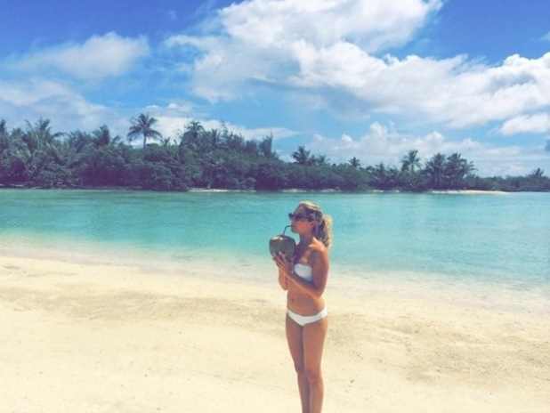 Newlywed Ashley Tisdale on honeymoon in exotic location - 14 September.