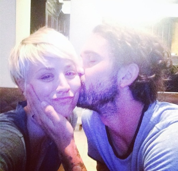 Kaley Cuoco-Sweeting and husband Ryan Sweeting take selfie together 15 September