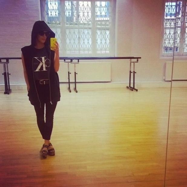Caroline Flack turns up hungover for Strictly rehearsal 19 September