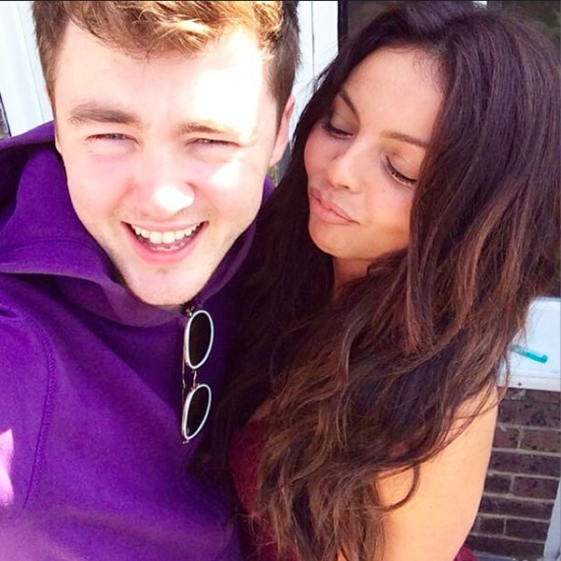 Little Mix's Jesy Nelson pictured with rumoured new beau Jake Roche, 16 September 2014