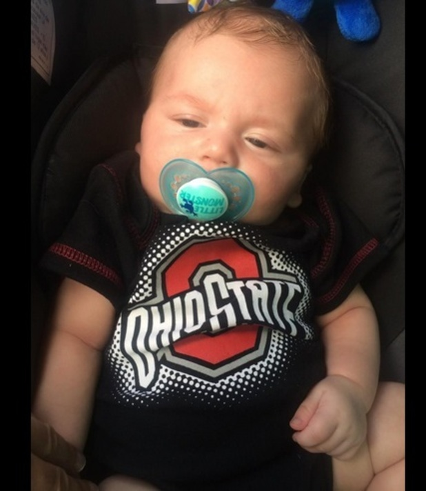 Teen Mom's Jenelle Evans shares new photos of her baby son Kaiser, 17 September 2014