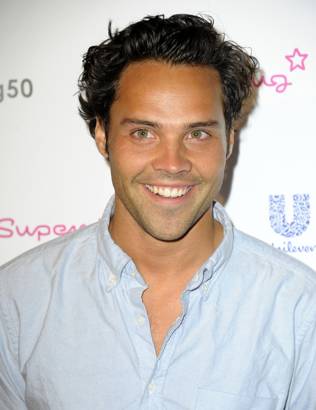 Made In Chelsea's Andy Jordan at the Superdrug - 50th birthday party held at the Bankside Vault. 06/10/2014. London, United Kingdom.