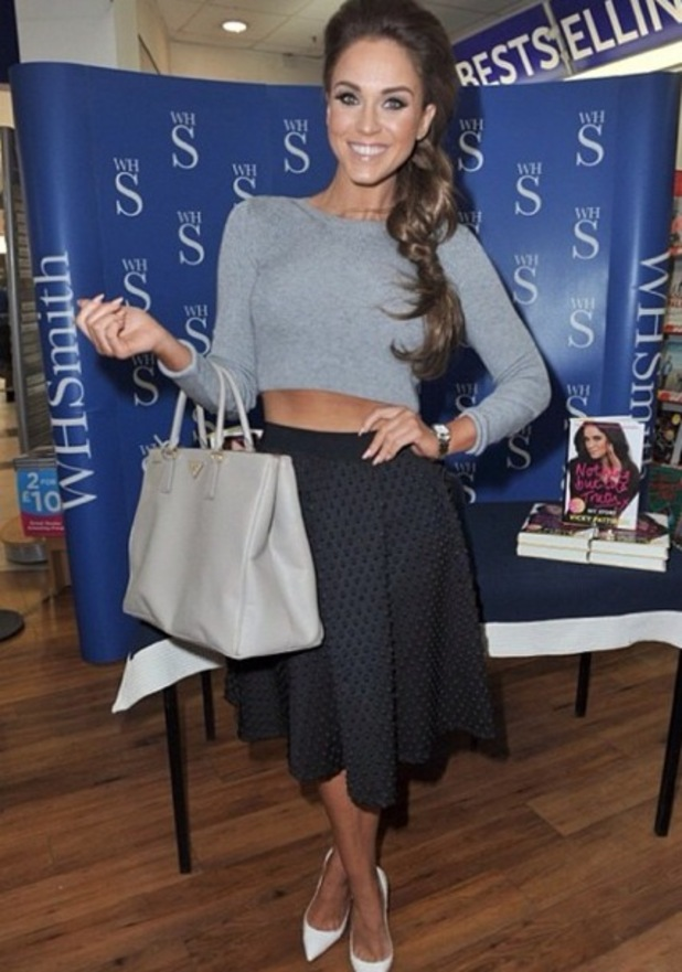 Vicky Pattison at her autbiography book signing in Manchester 19 September