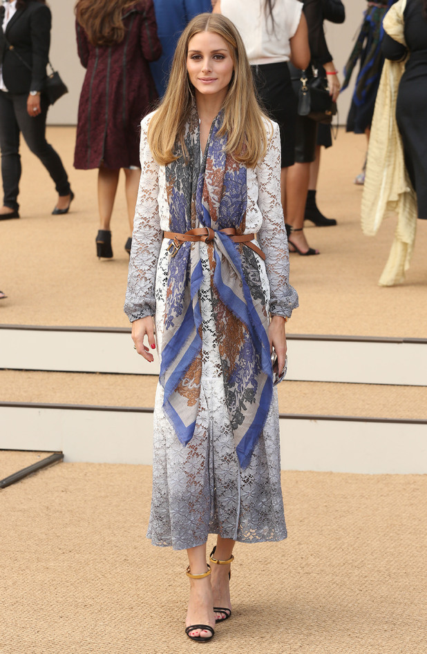 Olivia Palermo Does Boho Glam In Chic Lace Dress At London