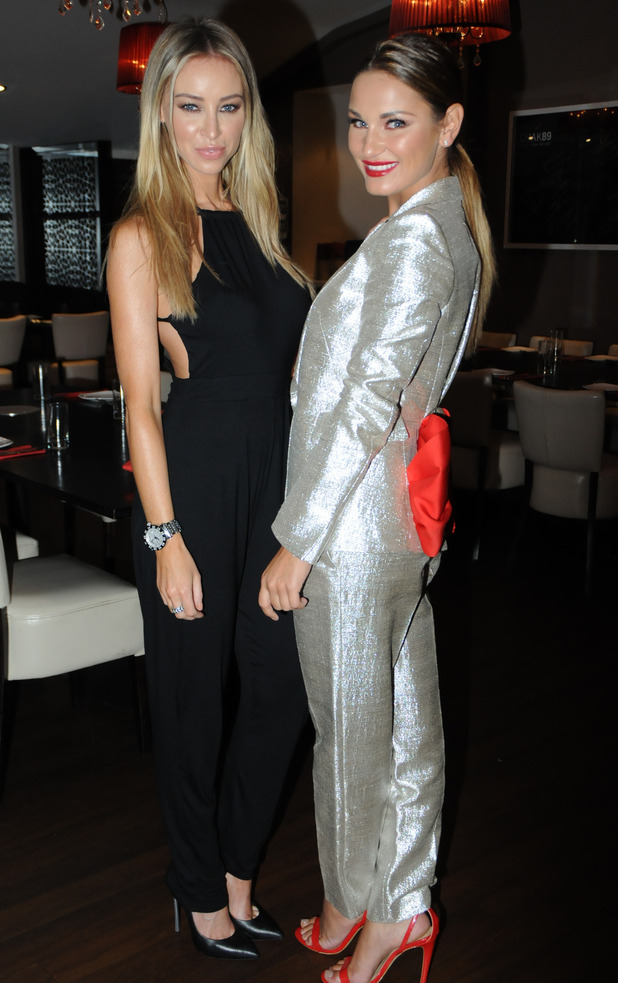 TOWIE's Lauren Pope and Sam Faiers at the Emeli Sande charity gala - 18 September 2014.