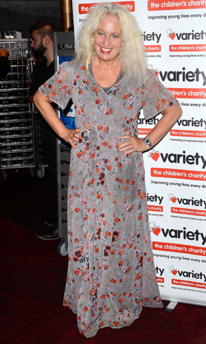 Debbie Douglas at a charity screening of 'Wizard of Oz 3D' in aid of the Variety Club held at the Empire Cinema, Leicester Square, 14 September 2014