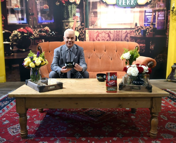 Central Perk Pop-Up Celebrating The 20th Anniversary Of 'Friends' on September 16, 2014 in New York City.