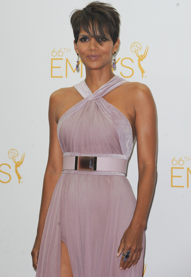 Halle Berry at 66th Annual Primetime Emmy Awards Press Room, August 2014