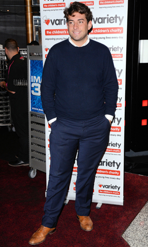 James 'Arg' Argent at a charity screening of 'Wizard of Oz 3D' in aid of the Variety Club held at the Empire Cinema, Leicester Square, 14 September 2014