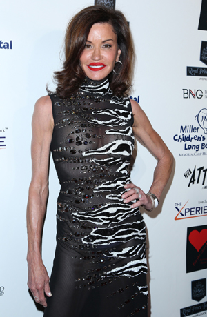 Janice Dickinson, 30 Years of Music, Art & Fashion' benefiting Miller Children's Hospital at The Attic - Arrivals, 2014