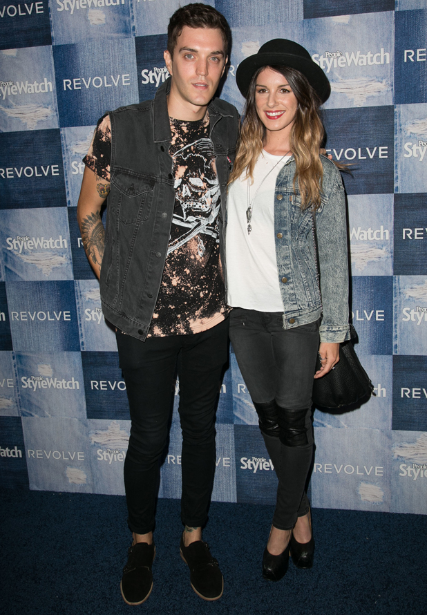 Josh Beech and Shenae Grimes at People StyleWatch 4th Annual Denim Awards Issue party at The Line, 18 September 2014