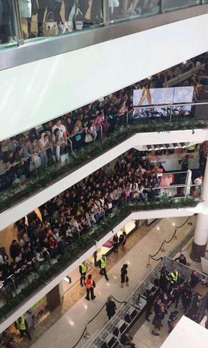Kim Kardashian attends the Kardashian Kollection Spring Launch at Westfield Parramatta on September 13, 2014 in Sydney, Australia.
