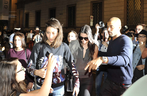 Kendall Jenner, Milan Fashion Week Spring/Summer 2015 - Moschino - Outside Arrivals, 18 September 2014