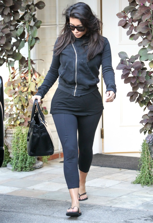 Kim Kardashian is seen on September 16, 2014 in Los Angeles, California. (Photo by Bauer-Griffin/GC Images)