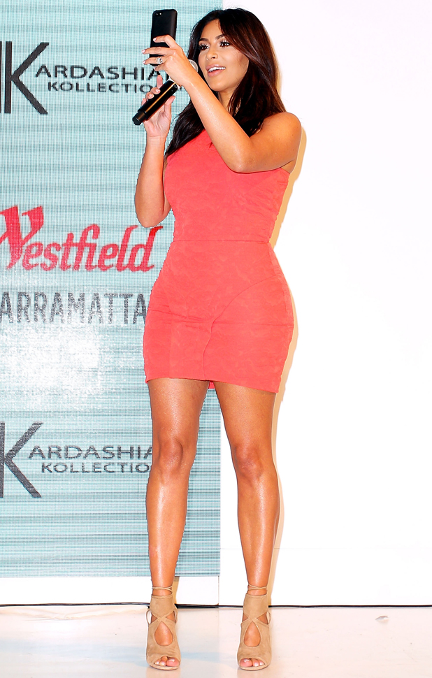 Kim Kardashian attends the Kardashian Kollection Spring Launch at Westfield Parramatta on September 13, 2014 in Sydney, Australia. (Photo by Lisa Maree Williams/Getty Images)