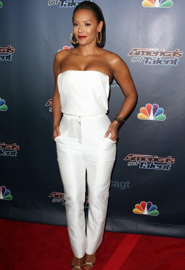 Mel B, 2014 America's Got Talent Finale held at Radio City Music Hall, 17 September 2014