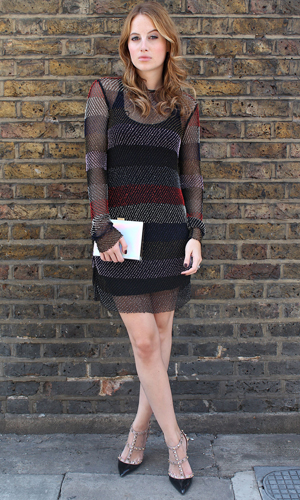 Rosie Fortescue in London on 29 August 2014