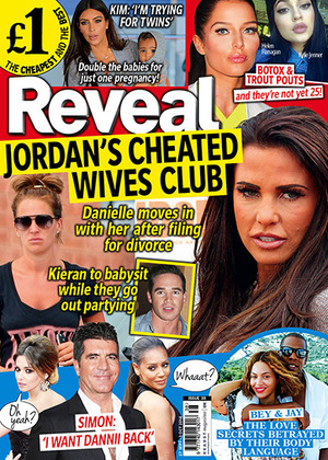 Reveal magazine cover, issue 38, 2014
