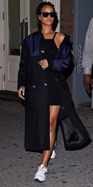 Singer Rihanna is seen on September 23, 2014 in New York City. (Photo by NCP/Star Max/GC Images)