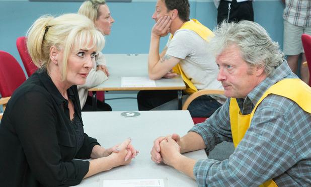 Corrie, Liz visits Jim, Wed 24 Sep